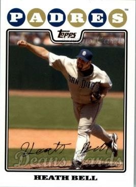 2008 Topps Updates #320  Heath Bell