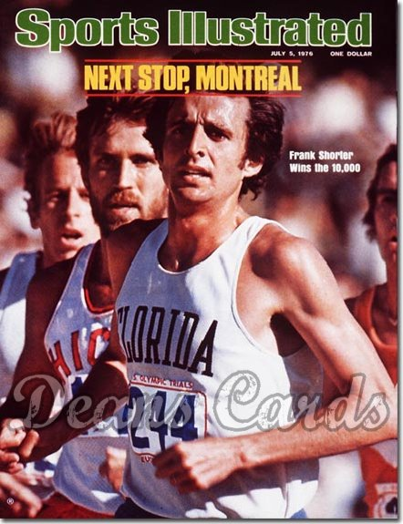 1976 Sports Illustrated - No Label   July 5  -  Frank Shorter