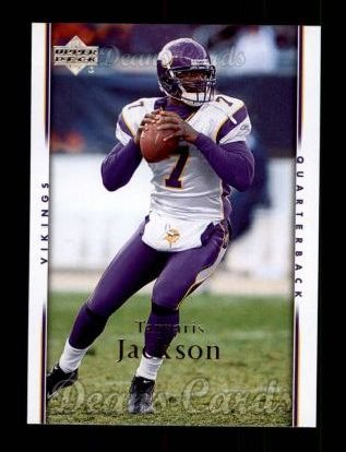 2007 Upper Deck #105  Tarvaris Jackson