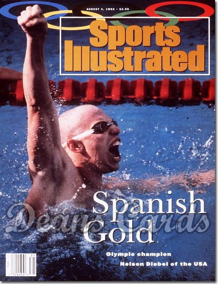 1992 Sports Illustrated - No Label   August 3  -  Nelson Diebel (Swimming / Swimmer)