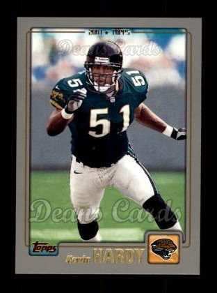 2001 Topps #23  Kevin Hardy