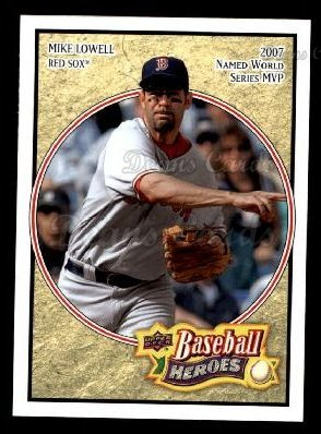 2008 Upper Deck Heroes #19  Mike Lowell