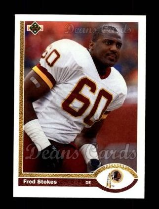 1991 Upper Deck #68  Fred Stokes