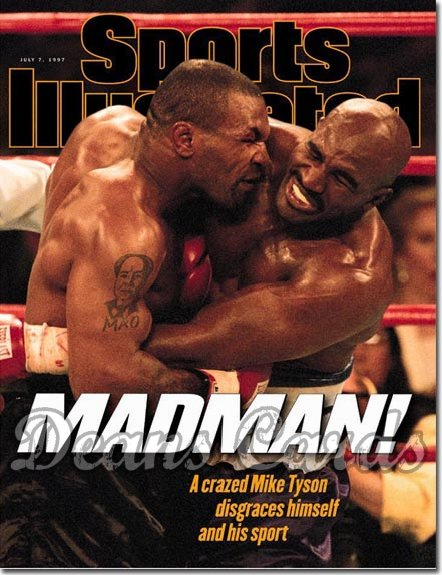 1997 Sports Illustrated - With Label   July 7  -  Mike Tyson & Evander Holyfield
