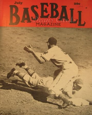 1941 Baseball Magazine    July