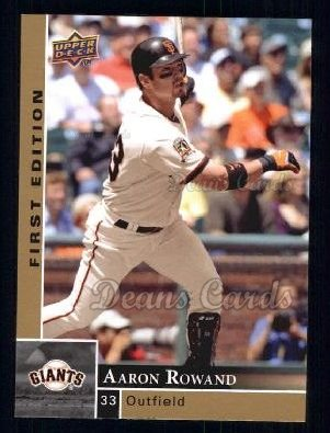 2009 Upper Deck First Edition #251  Aaron Rowand
