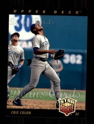 1993 Upper Deck #14  Cris Colon