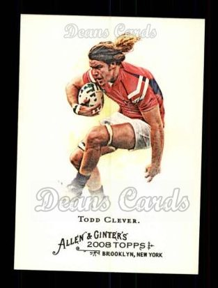 2008 Topps Allen & Ginter #238  Todd Clever