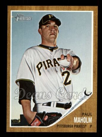 2011 Topps Heritage #295  Paul Maholm