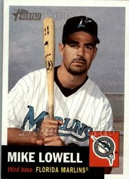 2002 Topps Heritage #75  Mike Lowell