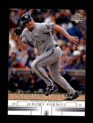 2002 Upper Deck #273  Jeromy Burnitz