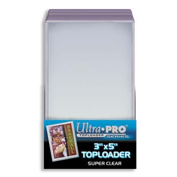 Topload Card Holder 3 x 5- Pack of 25