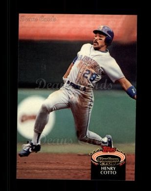 1992 Topps Stadium Club #14  Henry Cotto