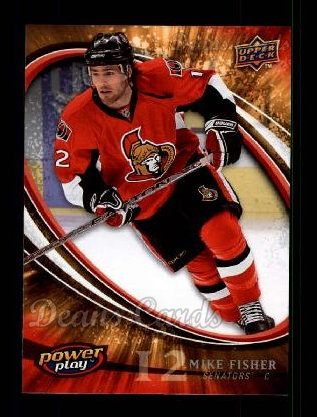 2008 Upper Deck Power Play #207  Mike Fisher