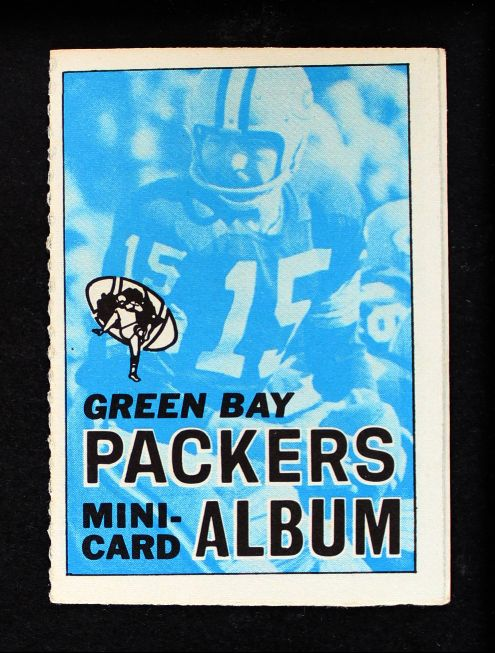 1969 Topps 4-in-1 Football Stamp Albums ALL  Green Bay Packers