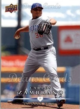 2008 Upper Deck First Edition #326  Carlos Zambrano