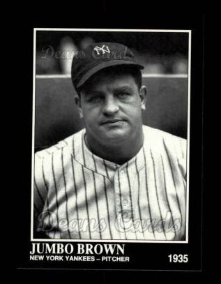 1992 Conlon #454  Jumbo Brown