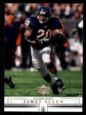 2001 Upper Deck #29  James Allen