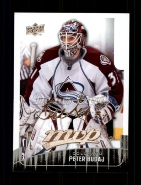 2009 Upper Deck MVP #227  Peter Budaj