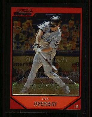2007 Bowman Chrome #79  Lyle Overbay