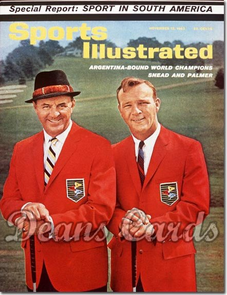 1962 Sports Illustrated - No Label   November 12  -  Arnold Palmer & Sam Snead