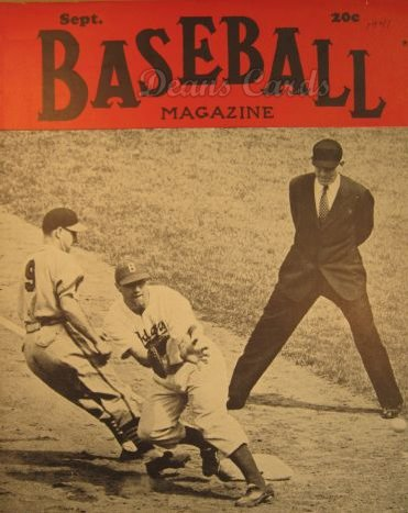 1941 Baseball Magazine    September