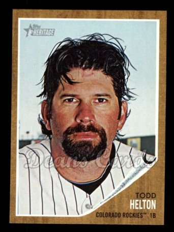 2011 Topps Heritage #190  Todd Helton