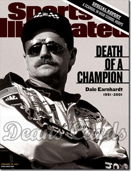 2001 Sports Illustrated   February 26  -  Dale Earnhardt (Nascar)