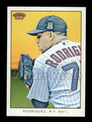 2009 Topps 206 #218  Francisco Rodriguez