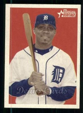 2006 Bowman Heritage #109  Marcus Thames