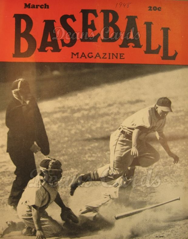 1948 Baseball Magazine    March