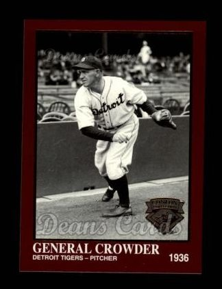 1994 Conlon Burgundy #1277  General Crowder