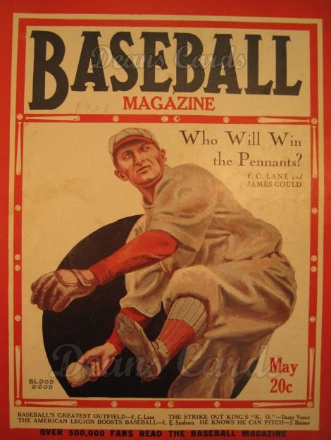 1928 Baseball Magazine    May