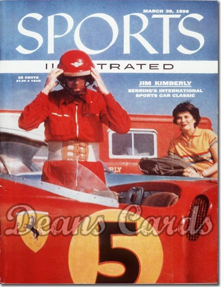 1956 Sports Illustrated - With Label   March 26  -  Jim Kimberly