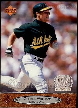 1996 Upper Deck #162  George Williams