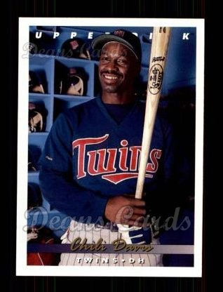 1993 Upper Deck #239  Chili Davis