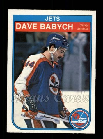 1982 O-Pee-Chee #375  Dave Babych