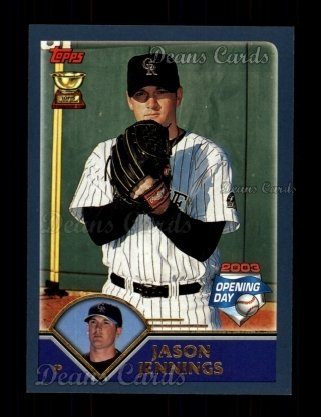 2003 Topps Opening Day #112  Jason Jennings
