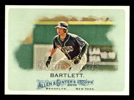 2010 Topps Allen & Ginter #188  Jason Bartlett