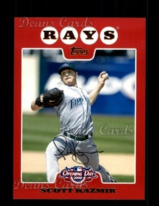2008 Topps Opening Day #5  Scott Kazmir