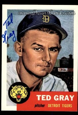 1991 Topps 1953 Archives #52  Ted Gray