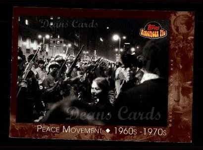 2001 Topps American Pie #128   Peace Movement