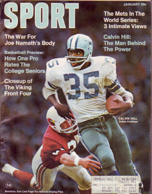 1970 Sport Magazine   -  Calvin Hill  January