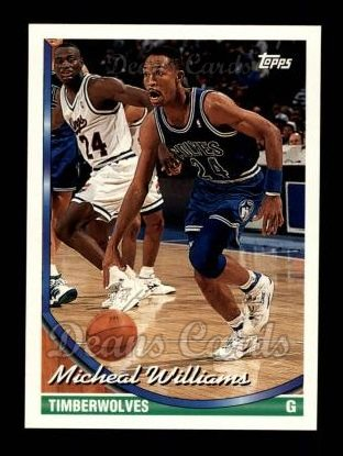 1993 Topps #39  Micheal Williams