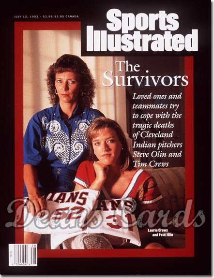 1993 Sports Illustrated - No Label   July 12  -  Laurie Crews & Patti Olin (Cleveland Wives)