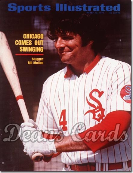 1973 Sports Illustrated - With Label   March 12  -  Bill Melton (Chicago White Sox)