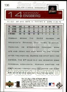 2003 Upper Deck #136  Morgan Ensberg