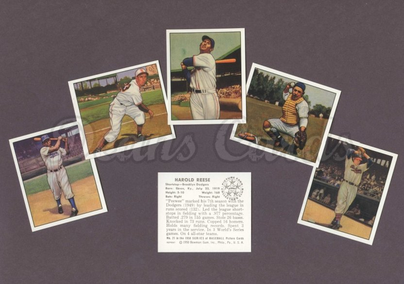 1950 Bowman Reprints    Bowman Baseball Reprint Complete Set