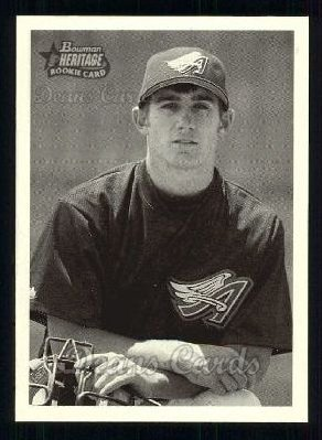 2001 Bowman Heritage #330  Jeff Mathis