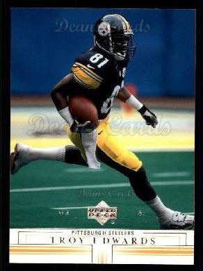 2001 Upper Deck #134  Troy Edwards